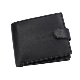 Close Out Deal- 100% Genuine Leather RFID Protected Wallet with Card Slot Pocket (Size 22.86x1.27x10