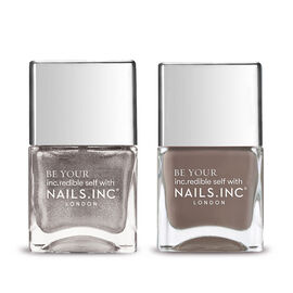 Nails Inc: Showstopping Style - 14ml & Dress Code: Party -14X2 ML
