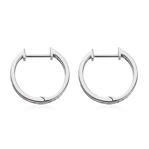 RHAPSODY 950 Platinum IGI Certified Diamond (VS/E-F) Earrings 1.00 Ct, Platinum wt. 4.47 Gms