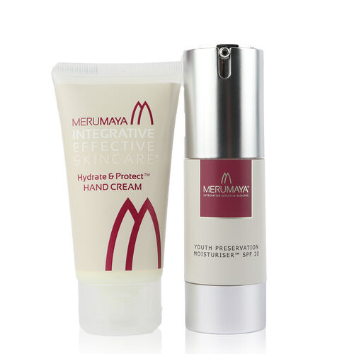MeruMaya: Dry Skin Saviours - Overnight Recharge Night Cream, Youth Preservation Moisturiser SPF 20