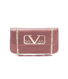 19V69 ITALIA by Alessandro Versace Shoulder Bag with Magnetic Closure (Size 24x15.5x6Cm) - Cipria