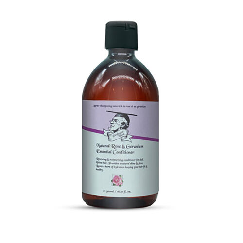 Professor Herb: Rose & Geranium Shampoo - 250ml & Rose & Geranium Conditioner - 250ml
