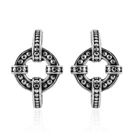 Bali Legacy Collection Sterling Silver Earrings (with Push Back), Silver wt 10.90 Gms.