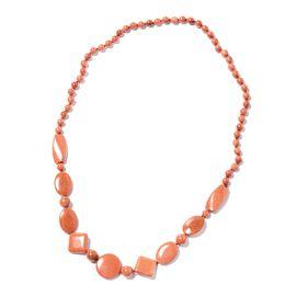 One Time Mega Deal-Gold Sandstone Necklace (Size 30)