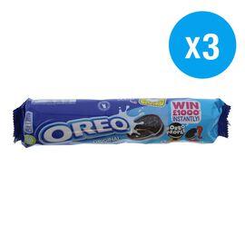 Oreo: Original Cookies - 154g (Pack of 3)