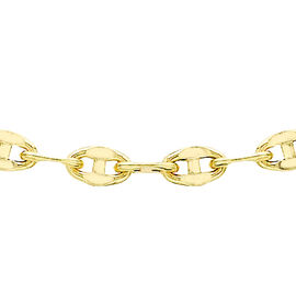 9K Yellow Gold Mariner Link Chain (Size 16), Gold wt 1.80 Gms