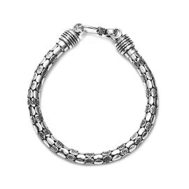 Artisan Crafted Bracelet in Sterling Silver 23.60 Grams 7.5 Inch