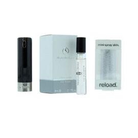 Reload Mini Perfume Spray Black (Incl. Mercedes Club Mini Men - 5ml & Embossed Skin)
