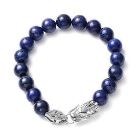 One Time Deal- Lapis Lazuli  Stretchable Bracelet 135.0 Ct (Size - 7.5)