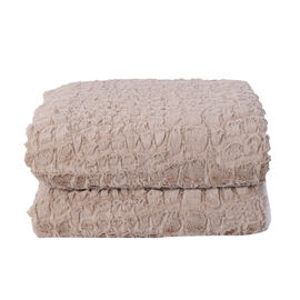 Super Soft Teddy Bear Plush Double Sided Sherpa Blanket (Size 150x200Cm)