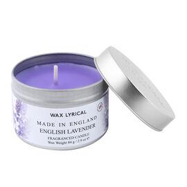 Wax Lyrical English Lavender Tin Candle (upto 20 Hours)