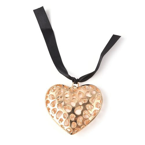 RACHEL GALLEY Heart Baubles Charm in Yellow Gold Tone