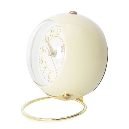 Decorative Alarm Clock Yellow - Colour