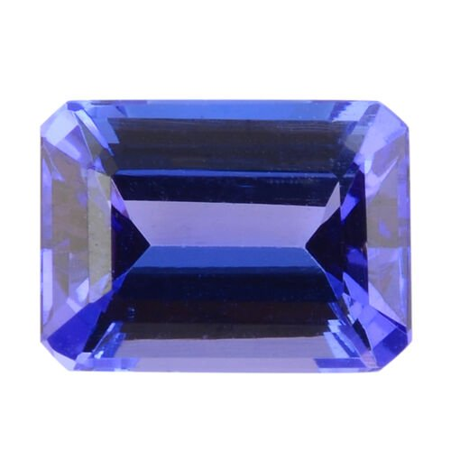 AAA Tanzanite Octagon 8x6mm Faceted 2.00 Cts