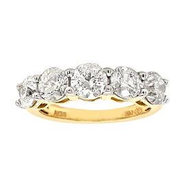 DOORBUSTER DEAL NY Close Out 14K Yellow Gold Natural White Natural Diamond (I1-I2/G-H) Ring 1.75 Ct.