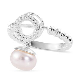 Freshwater Pearl Ring or Pendant in Sterling Silver