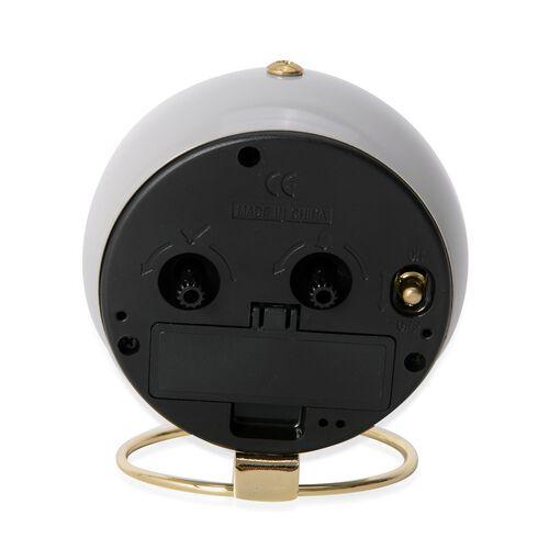 Decorative Alarm Clock Grey - Colour