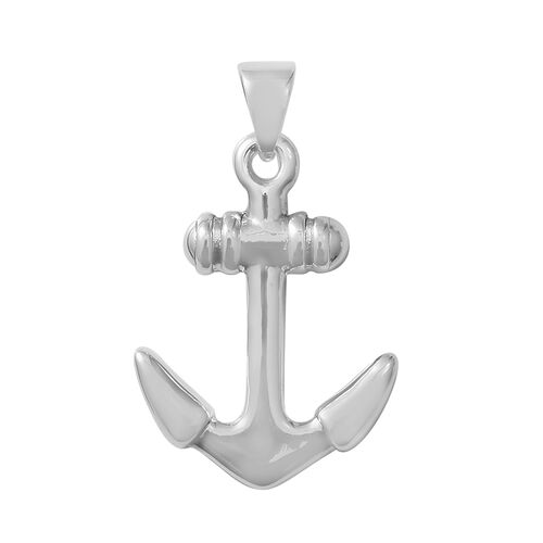 Designer Inspired- Sterling Silver Anchor Pendant