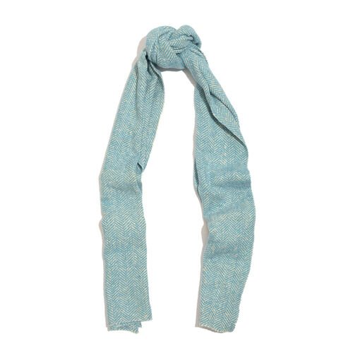 Close Out Deal-Sky Blue Colour Muffler (Size 170x35 Cm)
