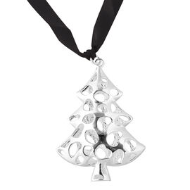 RACHEL GALLEY Tree Baubles Charm in Silver Tone