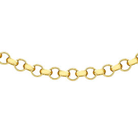 Close Out Deal Belcher Chain Necklace in 9K Yellow Gold 20 Inch