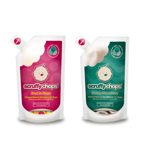 Scruffy Chops: Mineral Range - Scruffy Chops Zest in Show Shampoo - 250ml (With Scruffy Chops Muddy Marvellous Conditioner - 250ml)