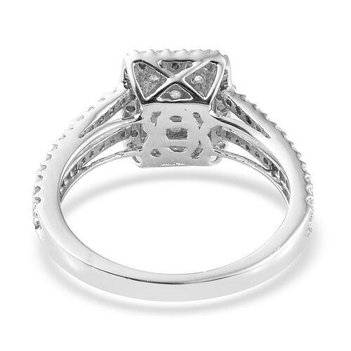 Limited Edition 0.50 Carat Diamond (I2-I3/G-H) Ring in 9K White Gold
