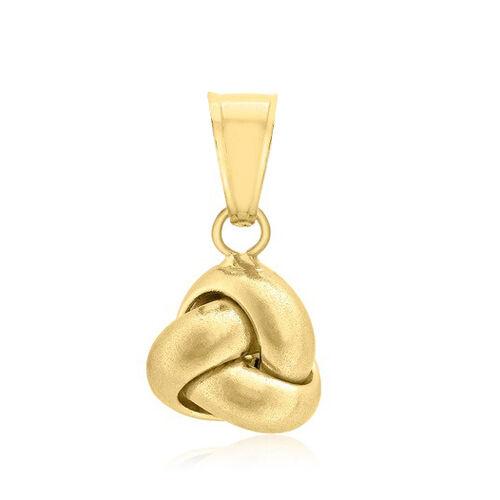 JCK Vegas Collection ILIANA 18K Yellow Gold Knot Pendant