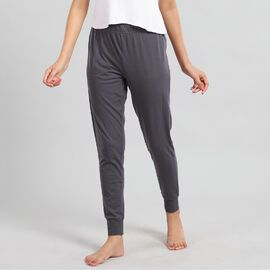 """100% Cotton single jercy loungwear Legging Color:Gray Size:S 94Lx71W CM"""