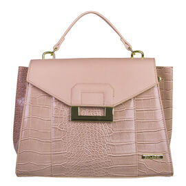 Bulaggi Collection -  Cynthia Handbag (Size 30x24x12) - Pink