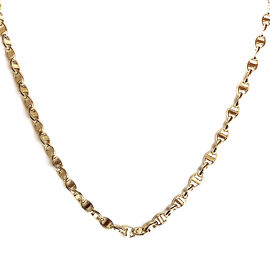 One Time Close Out Deal 9K Yellow Gold Mariner Link Chain (Size 18).Gold Wt 4.50 Gms