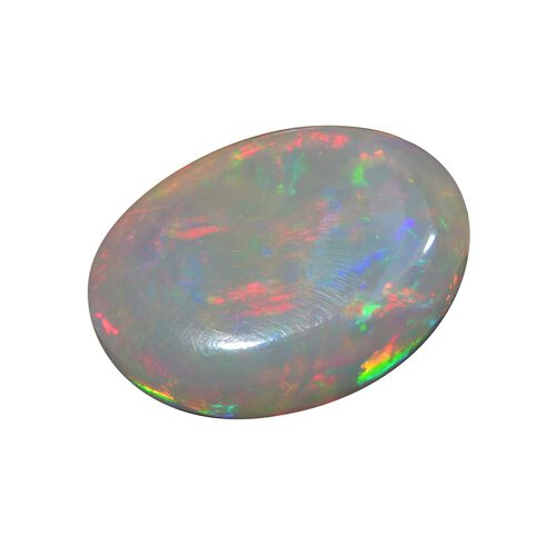 AAA Ethiopian Opal Oval Free Cabochon 27.44 Cts