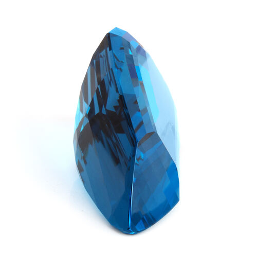 London Blue Topaz Fancy 77x39 Faceted 3A 568.580 Cts