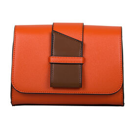Bulaggi Collection Goldie Hippouch in Orange