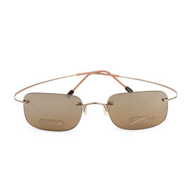 MARCHON AIRLOCK Designer Sunglasses - Brown