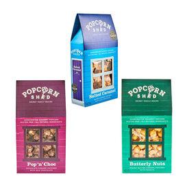 POPCORN SHED: 3-shed Gourmet Popcorn Selection Pack (Bestsellers)