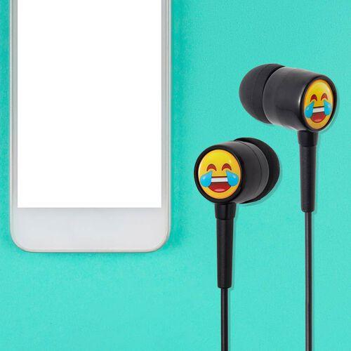 Groov-e EarMOJIs Stereo Earphones - Laughing Face