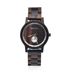 Botanica Olive Sandalwood and Woodlink Strap Watch