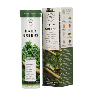 Wellbeing Nutrition:  Daily Greens - 15 Effervescent tablets
