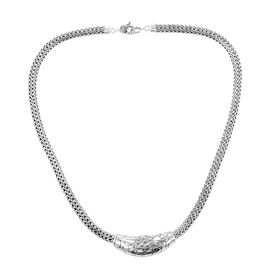 Royal Bali Collection 20 Inch Long Necklace in Sterling Silver 64.96 Grams