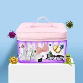 13 LED Portable UV Sterlisation Bag - Pink