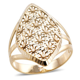 Royal Bali Floral Ring in 9K Gold 2.48 Grams