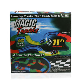 Twister Magic Tracks with Red Colour LED Car (Size 11 Ft)
