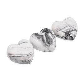 DOD - Aphrodite Freshener Hearts (6 Pcs) - White and Grey