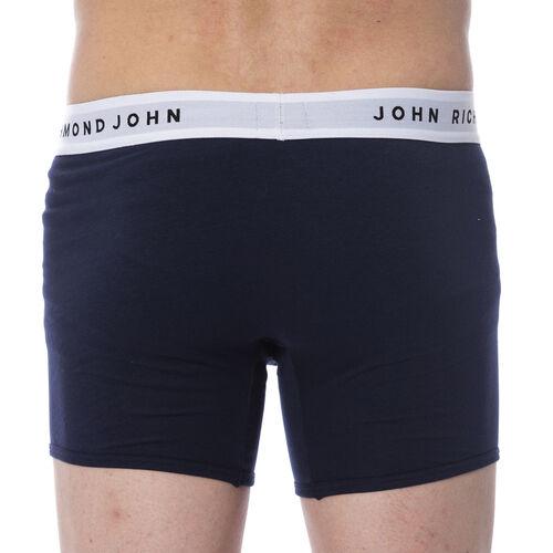 Richmond Mens 2-Pack Boxer Shorts (Size M) - Blue/Navy