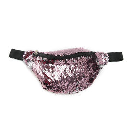 Sequin Bum Bag - Pink