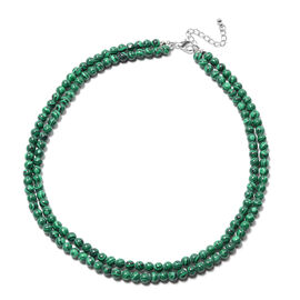 OTO-Malachite Necklace (Size 18 with 2 inch Extender) 199.50 Ct.