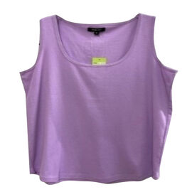 SUGARCRISP 100% Cotton Vest - Lavender