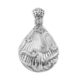 Filigree Design Pendant in Sterling Silver 7.80 Grams