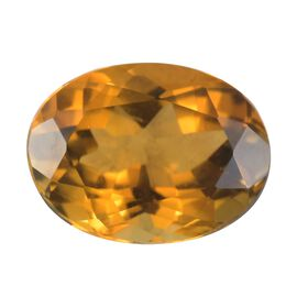 AA Yellow Tourmaline Oval 8x6 Faceted 1.10 Cts